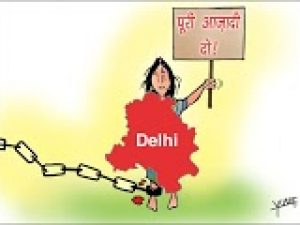 Historical background and issues related to the demand for full statehood of Delhi
