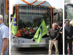 Revolutionizing Delhi Public Transport and Fighting Pollution with Electric Vehicles