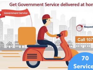 70 Services at Consumers Doorstep by Delhi Government