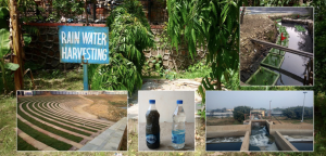 rain water harvesting and sewage treatment plants by delhi aam aadmi party government