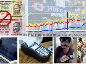 Pre and Post Demonetization Trends of Digital Transactions in India