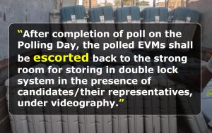 EVM Security and Transportation Guidelines from Election Commission of India