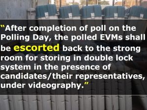 Storage and Transportation Protocols for EVMs